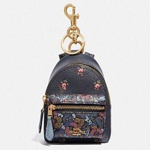 Coach Mini Backpack Bag Charm